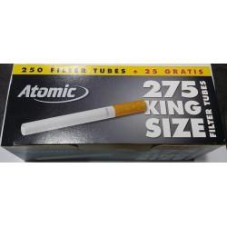 Αδεια τσιγάρα Atomic King Size (275 Τεμάχια)