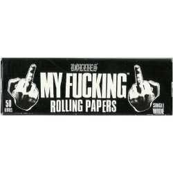 Xαρτάκια My Fucking Rolling Papers - Πακέτο 10 τεμαχίων