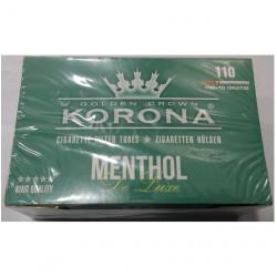 Άδεια τσιγάρα Korona Menthol (110 Τεμάχια)