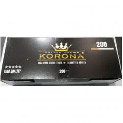 Άδεια τσιγάρα Korona Golden Crown King Size (200 Τεμάχια)