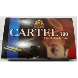 Αδεια Τσιγάρα Cartel Filtered Cigarette Tubes King Size (100 Τεμάχια)