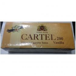 Αδεια Τσιγάρα Cartel Βανίλια (200 Τεμάχια)