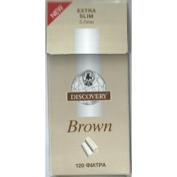 Φιλτράκια Discovery Brown Extra Silm - Πακέτο 10 τεμαχίων