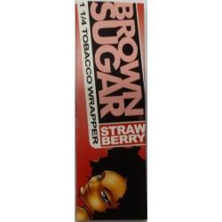 Αρωματικά Πουρόφυλλα Brown Sugar 1.1/4 με Γευση Strawberry