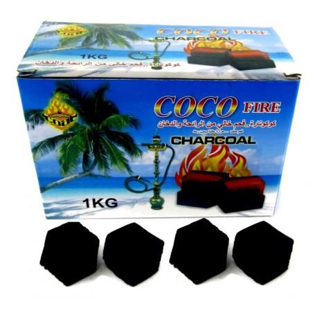 Καρβουνάκια για ναργιλέ Coco Fire σε κύβους (1 κιλό)