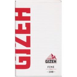 Χαρτάκια Gizeh Fine Magnet (Κόκκινα) - Πακέτο 10 τεμαχίων