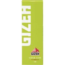 Χαρτάκια Gizeh Λαχανί Super Fine - Πακέτο 10 τεμαχίων