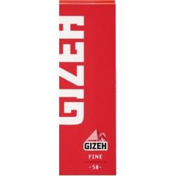Χαρτάκια Gizeh Κόκκινα Fine - Πακέτο 10 τεμαχίων